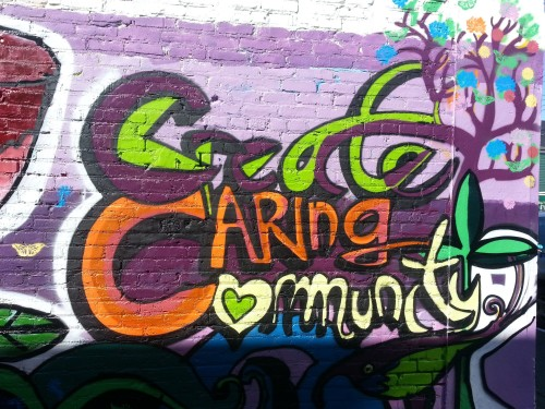 Mural: create caring community