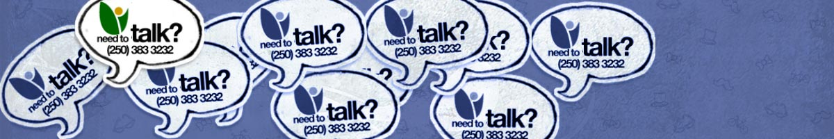 Need to talk? 250-383-3232