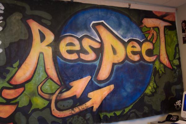 banner art: Respect!
