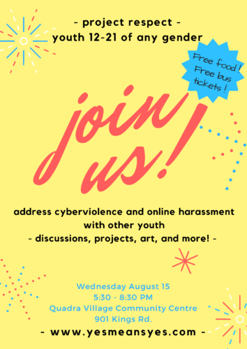 Join our summer cyberviolence workshops